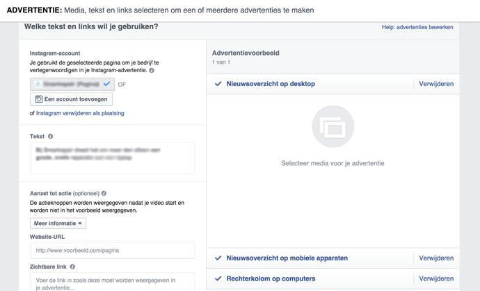 STAP6 - Facebook video advertentie