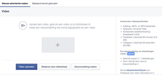 STAP7 - Facebook video advertentie