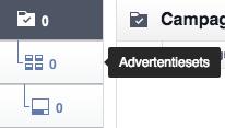 Facebook Power Editor - Advertentiesets