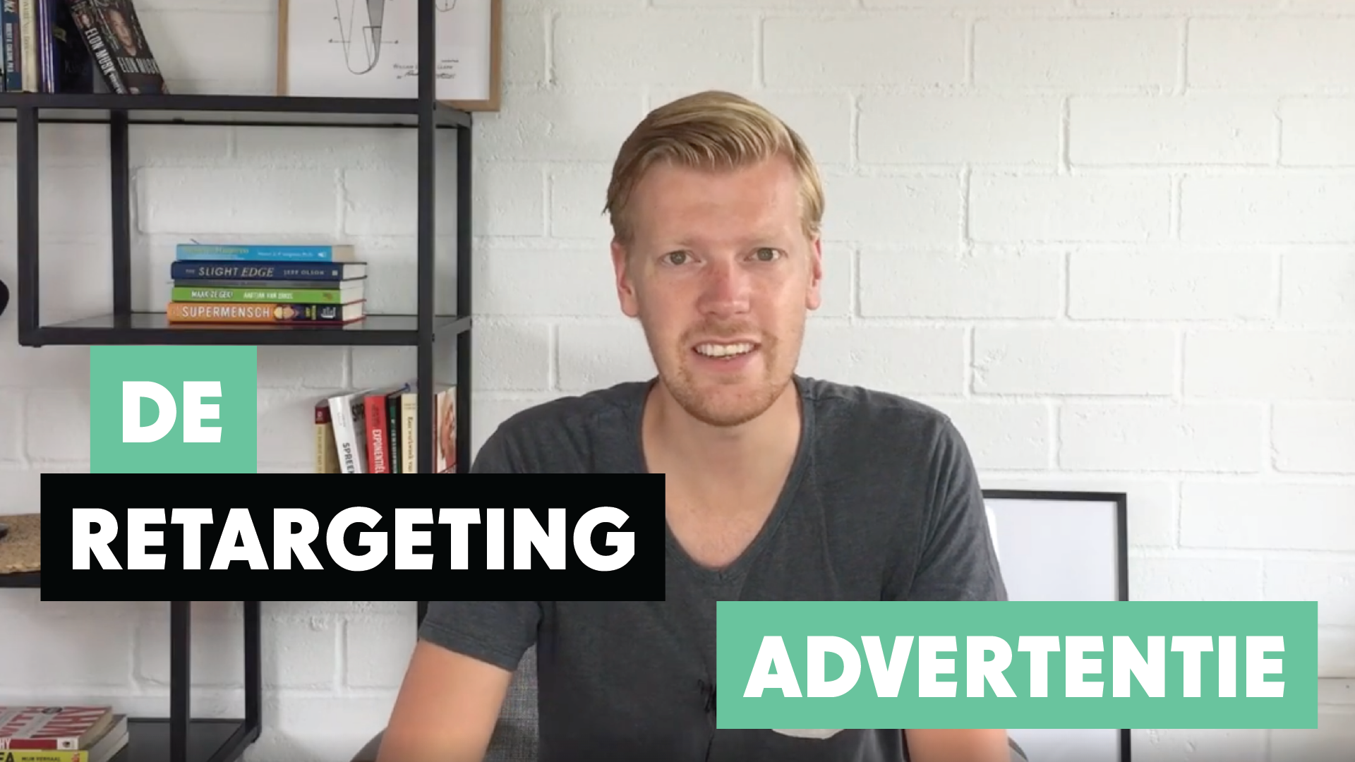 De retargeting advertentie